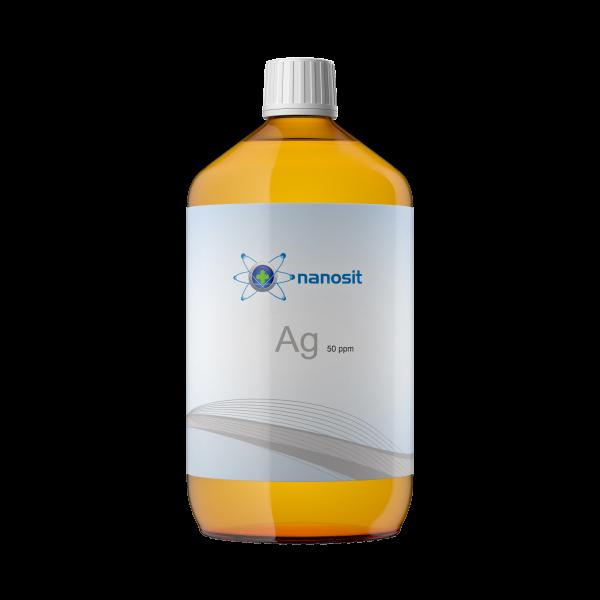 nanosit kolloidales Silber 50 ppm 1 Liter