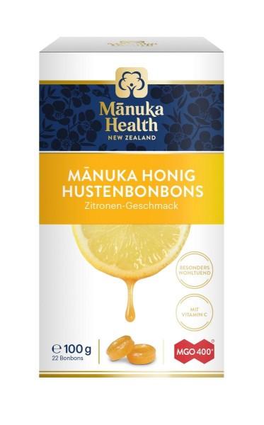 Manuka Honig Hustenbonons MGO 400+ Zitrone