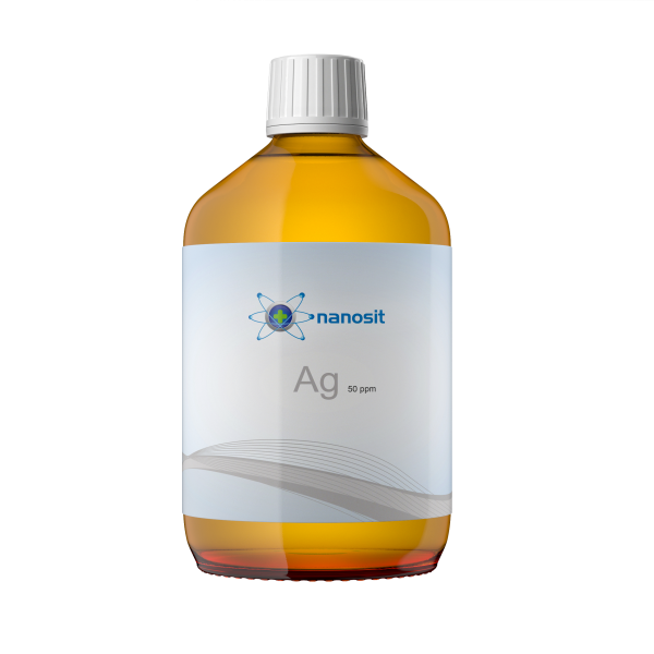 500 ml nanosit kolloidales Silber, 50 ppm