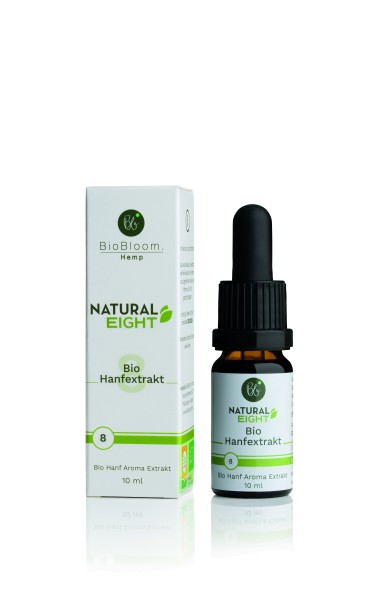 BioBloom 8 % Bio CBD Hanfextrakt Natural Eight
