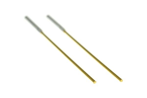 Gold-Elektroden für den Ionic-Pulser
