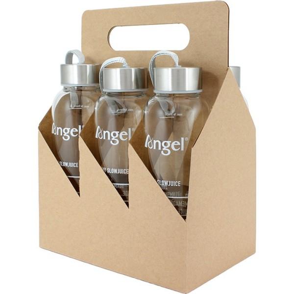 Angel Juicer Glasflasche, 360 ml (6 Stück)
