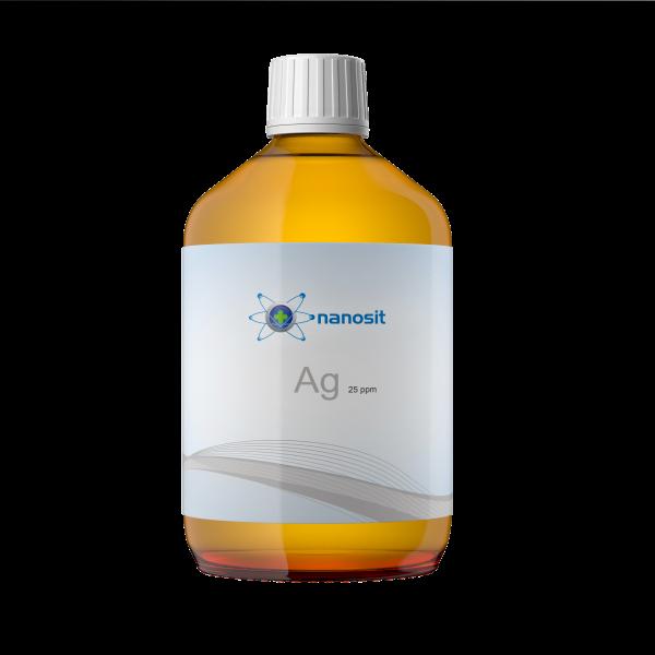 nanosit kolloidales Silber 25 ppm 500 ml