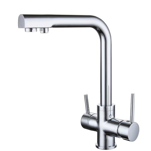 Puro 3-Wege-Wasserhahn