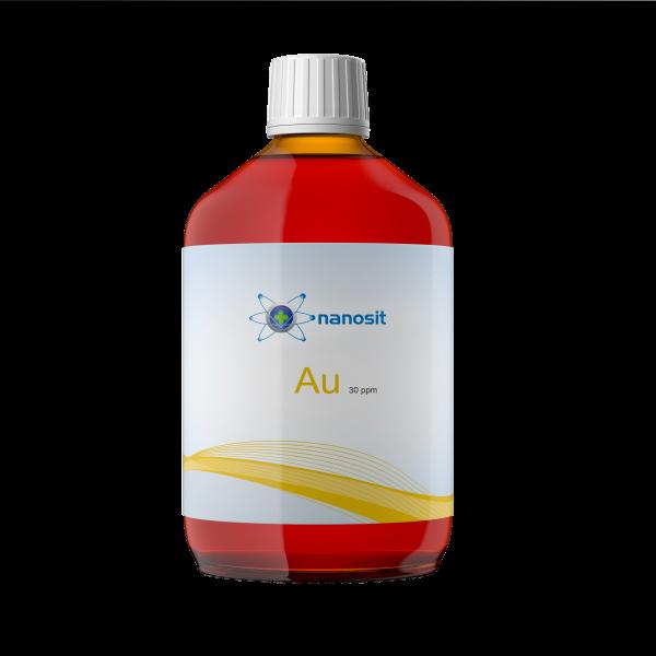 500 ml nanosit kolloidales Gold, 30 ppm