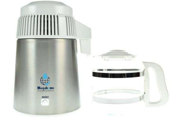 Megahome Destilliergerät MH943SWS mit Glaskanne