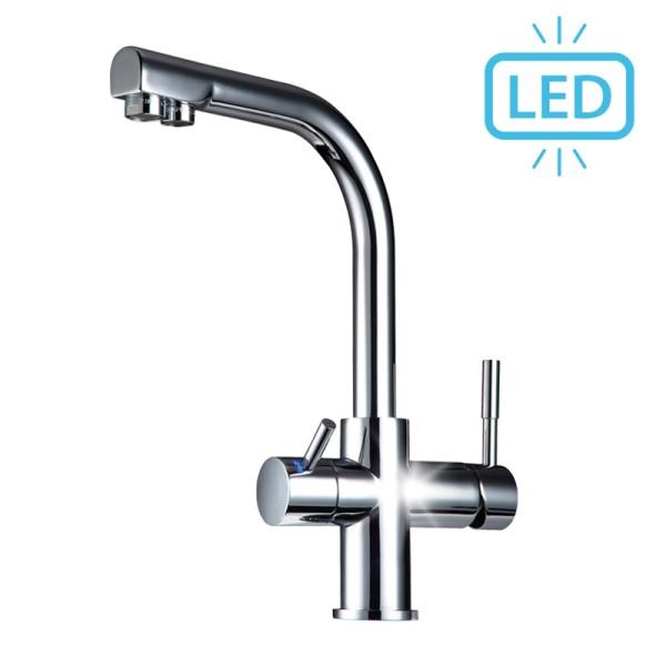 Puro LED 3-Wege-Wasserhahn