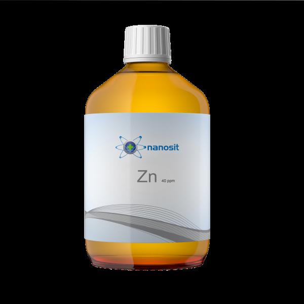 nanosit kolloidales Zink, 40 ppm 500 ml