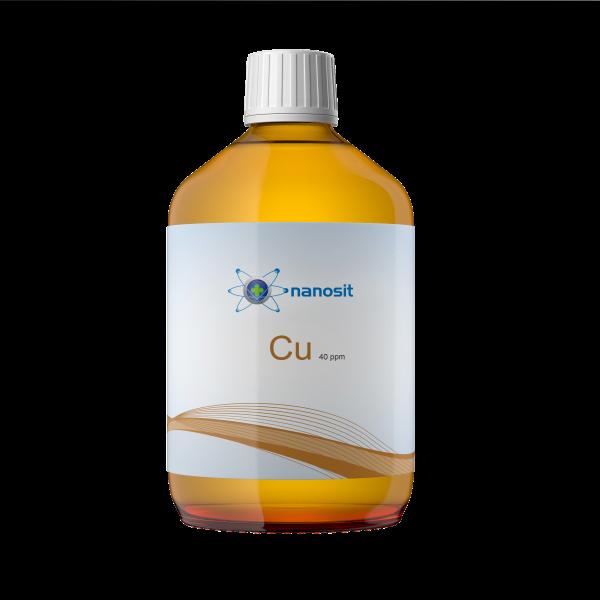 nanosit kolloidales Kupfer, 40 ppm 500 ml