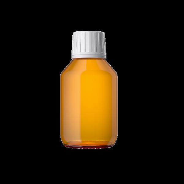 Euro Medizinflasche mit Verschluss, 100 ml