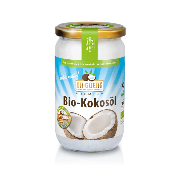 1000 ml Dr. Goerg Premium Bio Kokosöl